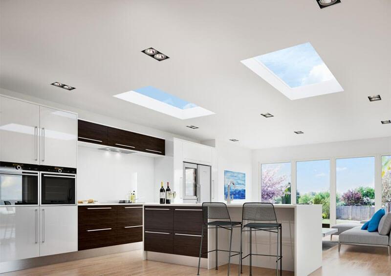 flat roof light